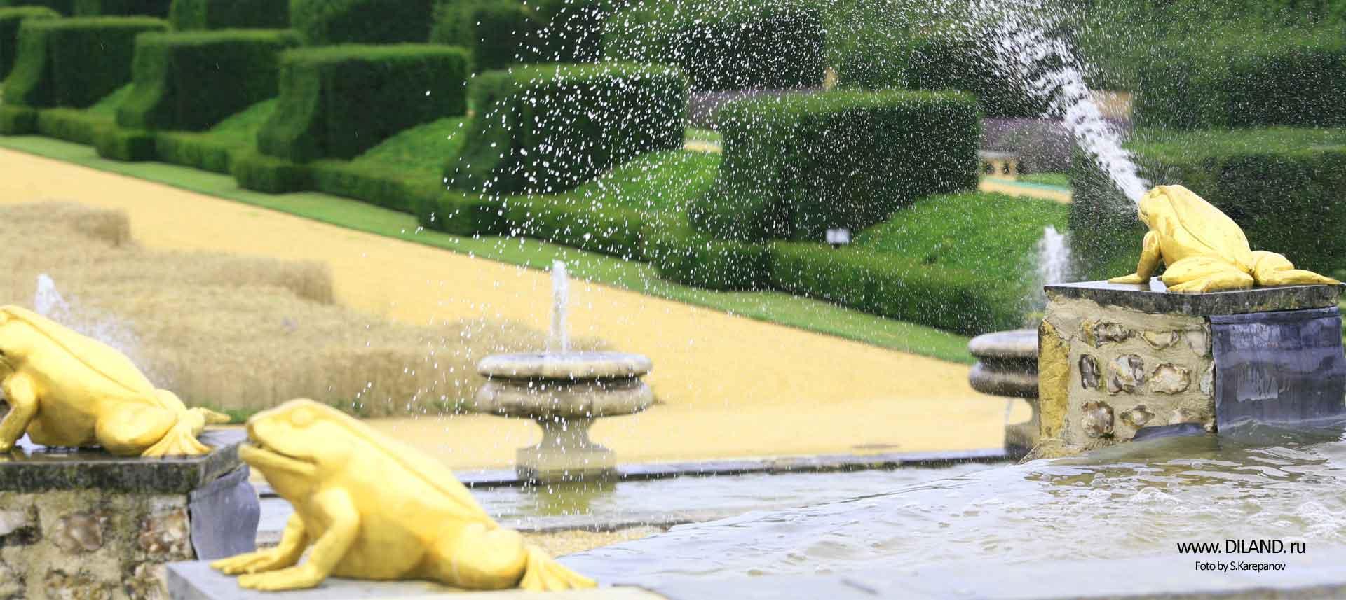 фонтаны водоем фото