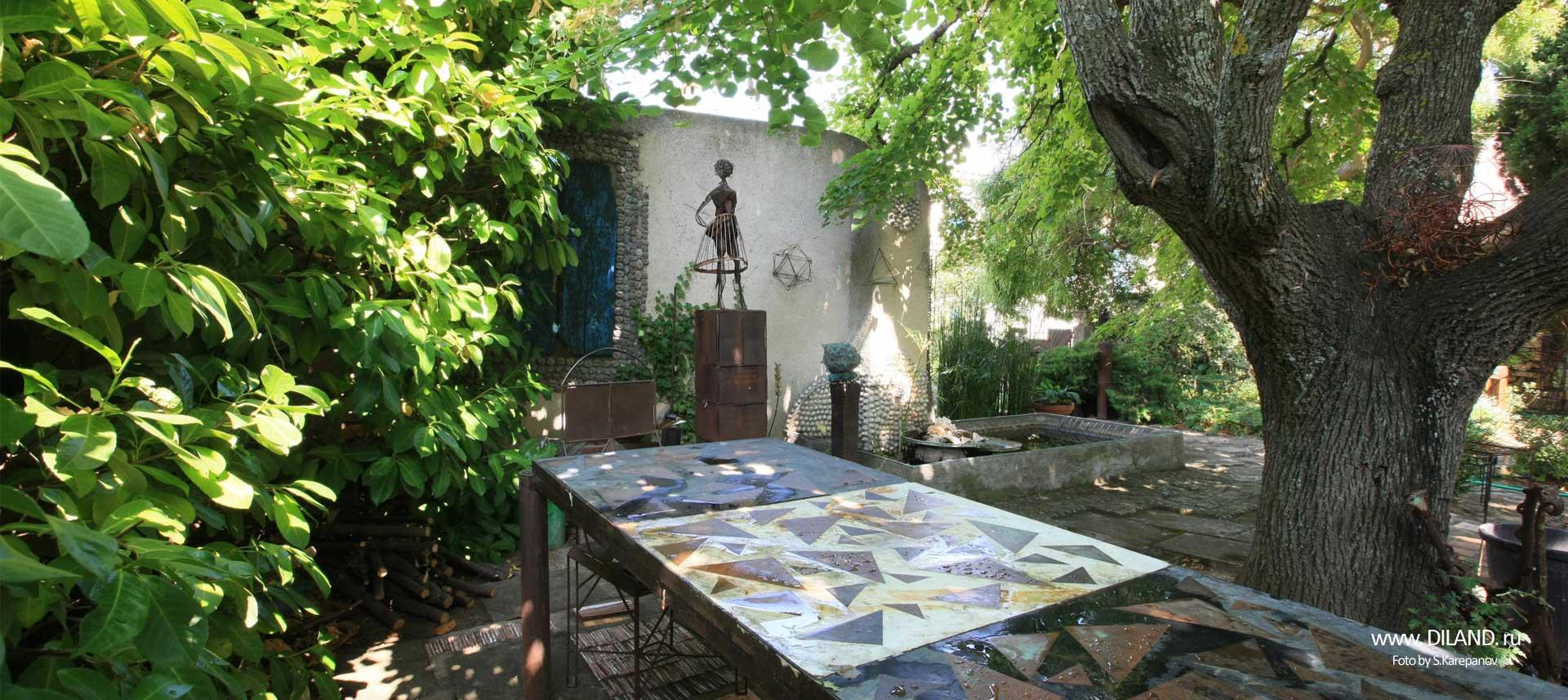 дизайнерский сад