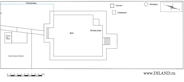 Опорный план участка